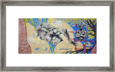 Minotaur Framed Print by Derrick Higgins