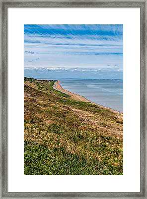 Minster Leas On The Isle Of Sheppey Framed Print