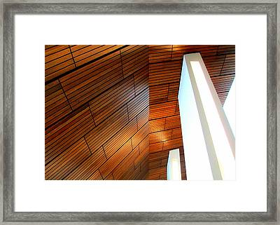 Mint Ceiling 1 Framed Print by Randall Weidner