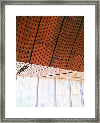 Mint Ceiling 2 Framed Print by Randall Weidner