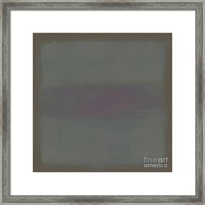 Mint Clove Framed Print by Lonnie Christopher