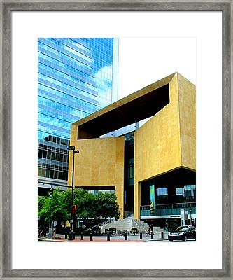 Mint Museum Charlotte Framed Print by Randall Weidner
