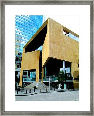 Mint Museum Uptown Framed Print by Randall Weidner