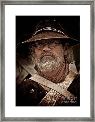 Minuteman Framed Print by Mark Miller
