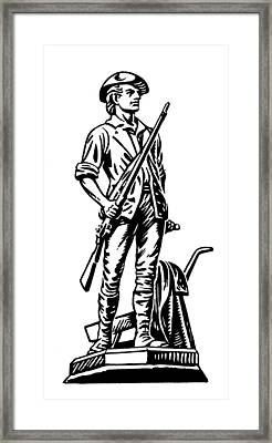 Minutemen Framed Print