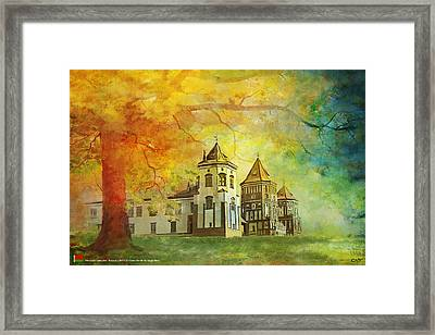 Mir Castle Complex Framed Print by Catf