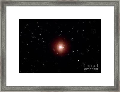 Mira Variable Star Framed Print