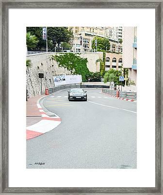 Mirabeau Bas Corner At Monaco Framed Print