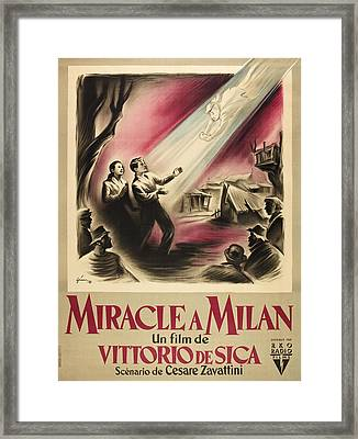 Miracle In Milan, Aka Miracolo A Framed Print by Everett