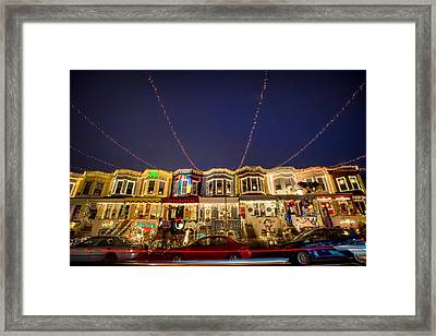 Miracle On 34th Street Baltimore Framed Print