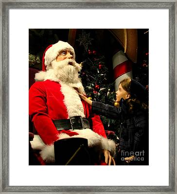 Miracle On 34th Street Framed Print