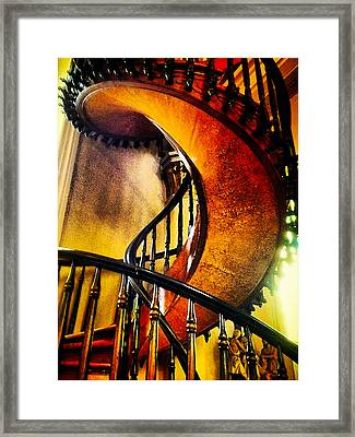 Miracle Staircase Framed Print