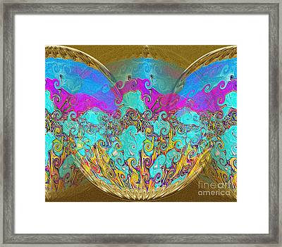 Miracles. Holiday Collection Framed Print