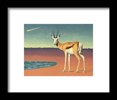 Mirage Framed Prints