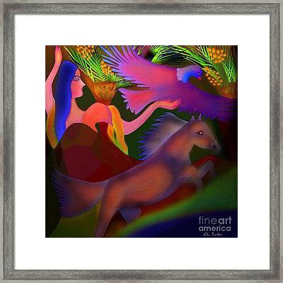 Mirage Framed Print by Latha Gokuldas Panicker