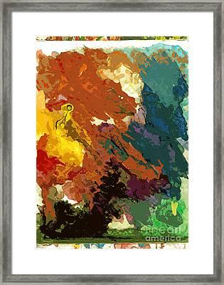 Mirage No 2 Framed Print by David Lloyd Glover