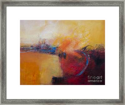 Mirage Town Framed Print by Ira Ivanova