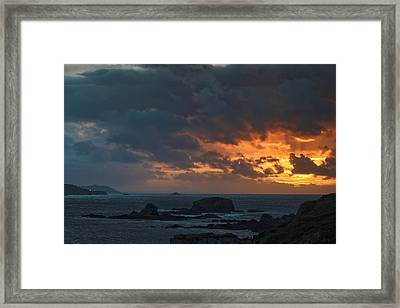 Framed Print featuring the photograph Mirandas Islands Galicia Spain by Pablo Avanzini