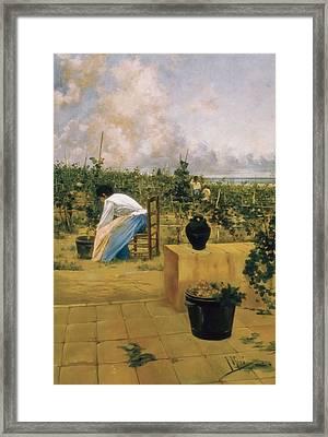 Miro I Argenter, Joaquim De 1849-1914 Framed Print by Everett