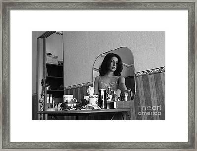 Framed Print featuring the digital art Mirror 3 by Evgeniy Lankin