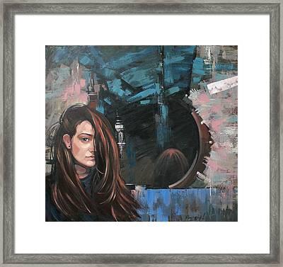 Mirror Framed Print by Anastasija Kraineva