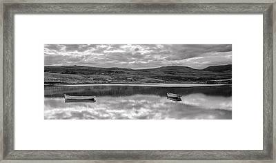 Mirror B-w Framed Print