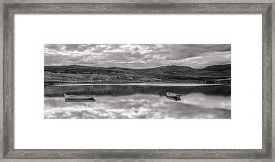 Mirror B-w Framed Print