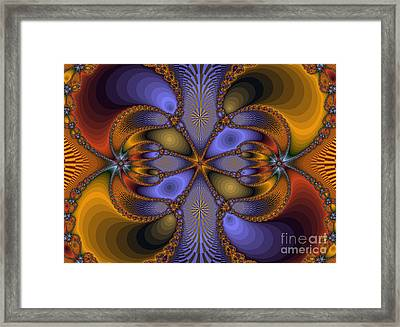 Mirror Butterfly Framed Print