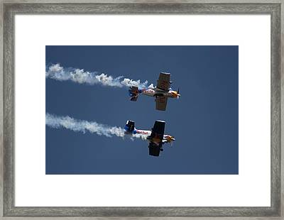 Mirror Flight Framed Print by Ramabhadran Thirupattur