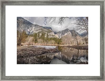Mirror Gleam Framed Print