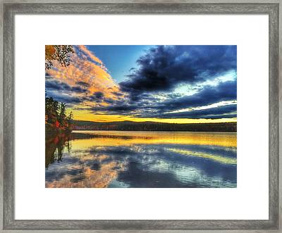 Mirror Image Framed Print by John Adams