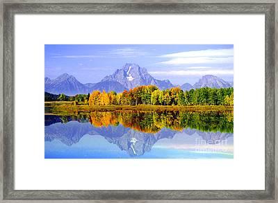 Mirror Image Framed Print by Robert Kleppin