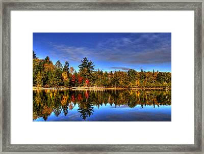 Mirror Image Framed Print by Sharon Batdorf