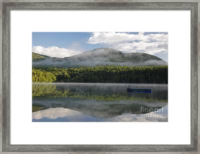 Mirror Lake - Woodstock New Hampshire Usa Framed Print by Erin Paul Donovan