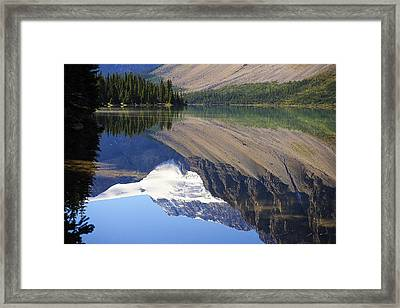 Mirror Lake Banff National Park Canada Framed Print