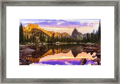 Mirror Lake Yosemite National Park Framed Print by Bob and Nadine Johnston
