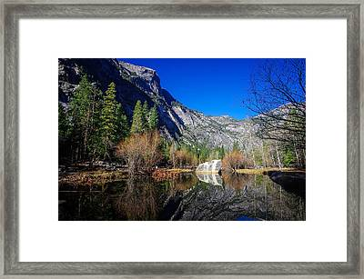 Mirror Lake Yosemite National Park Framed Print by Scott McGuire