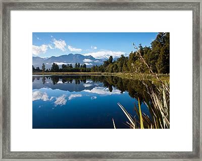 Mirror Landscapes Framed Print