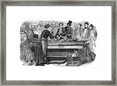Mirror-making Industry Framed Print