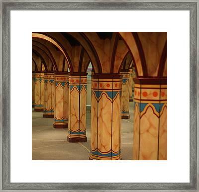 Mirror Maze Framed Print