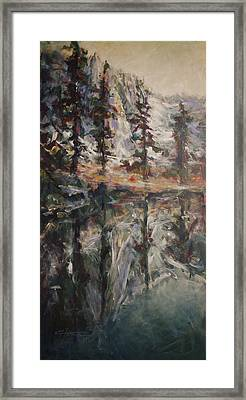 Mirror Mirror Framed Print by C Michael French
