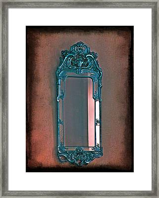 Mirror Mirror On The Wall... Framed Print