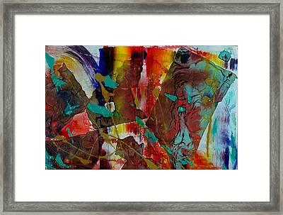 Mirror Mirror Framed Print by Phyllis Anne Taylor Pannet Art Studio