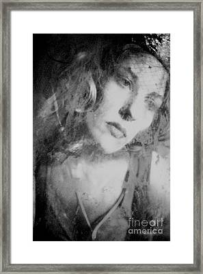 Mirror Mirror... Framed Print by Sharon Coty