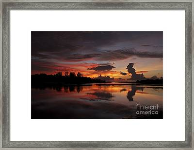 Framed Print featuring the photograph Mirror Of Nature by Gary Bridger