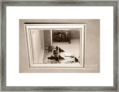 Mirror On The Wall  Framed Print by Bobby Mandal