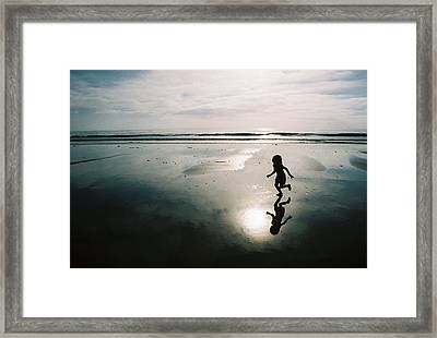 Framed Print featuring the photograph Mirror by Paul Foutz