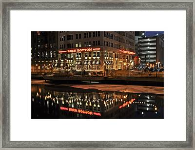 Framed Print featuring the photograph Mirror Reflection by Deborah Klubertanz
