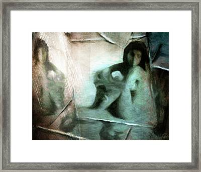 Mirror Room Framed Print by Gun Legler