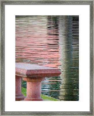 Framed Print featuring the photograph Mirror To The Soul by Deb Halloran